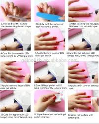 factory direct sale fashion salon professional 10ml gel 3 step