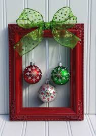 frame ball ornaments ribbon glue and tada u2026 pinteres u2026