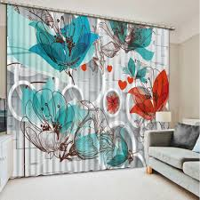 Turquoise Curtains For Living Room Online Get Cheap Circle Living Room Aliexpress Com Alibaba Group