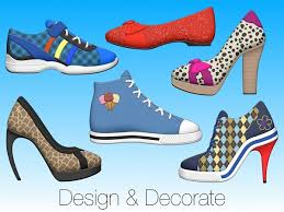 Decorate Shoes Shoe Doodle Design And Decorate Shoes On Your Iphone And Ipad