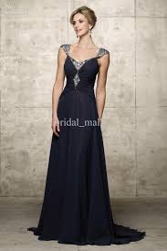 long navy blue dress kzdress