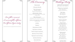 trifold wedding programs wordings navy blue coral pink pattern vertical trifold wedding