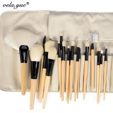 professional makeup brushes set superfine synthetic fiber hair