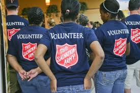the salvation army clearwater volunteer turkey giveaway the