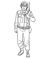 how to draw a soldier in armed forces day coloring page batch