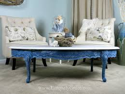 saltwash and chalk paint coastal coffee table flip