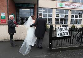 Wedding Dress Cast General Election 2017 Northern Ireland Election Candidate Bride