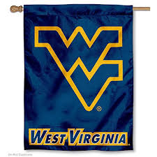 West Virginia travel towel images West virginia university wvu mountaineers house flag jpg