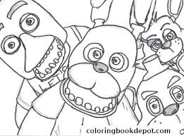 fnaf mangle coloring pages fnaf coloring pages bonnie mangle coloring page for your idea
