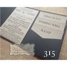wedding invitations nz wedding invitation nz best of a6 pocketfold with kraft inserts