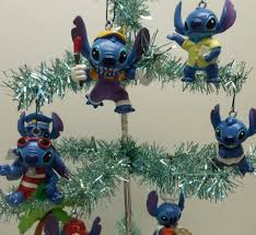 lilo and stitch 8 ornament set featuring