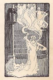 vintage halloween clip art ghost ladies the graphics fairy