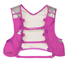 white waterproof cycling jacket montane via trail vest woman backpacks pink white hydratation