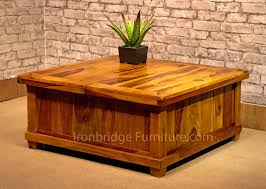 coffee table storage chest trunk rustic coffee table wood and