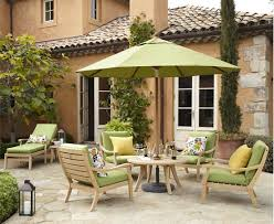 colonial house design with rattan patio furniture set also throw