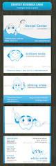 Dental Business Card Designs Business Card For Dentist Or Dental Institute By Bluedesign