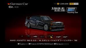 1992 mercedes 190e 2 3 mercedes 190 e 2 5 16 evolution ii touring car 92 gran