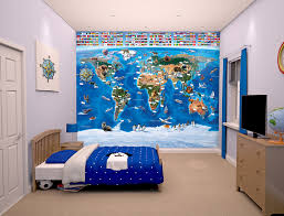 map of the world for kids wall murals ireland