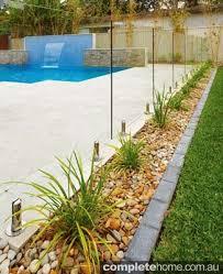 Backyard Pool Fence Ideas Garden Bedding Running Beside The Pool Fence Pool Fencing Ideas