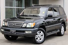 lexus vehicle skid control system pre owned 2003 lexus lx 470 4dr suv sport utility in bellevue