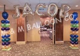balloon delivery winston salem nc name banner attached to square pack columns for bar mitzvah