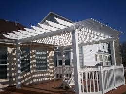 shade pergola for deck in st louis st louis decks screened