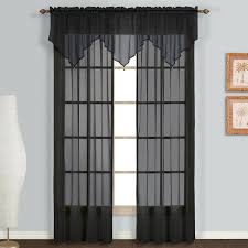 amazon com united curtain monte carlo sheer ascot valance 40 by