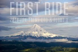 first ride 2014 fox talas ctd fork and float x shock mountain