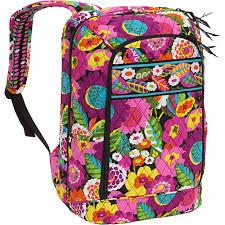 bloom backpack vera bradley laptop backpack va va bloom vera bradley computer