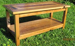 Barn Board Coffee Table Handmade Reclaimed Barnwood Coffee Table With Matching End Tables
