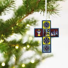 cross religious hallmark ornament specialty ornaments hallmark