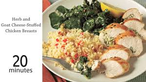 stuffed chicken for thanksgiving herb and goat cheese stuffed chicken recipe myrecipes