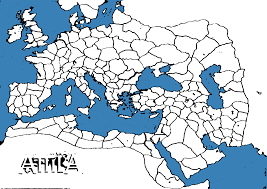 Blank Map Of Roman Empire by Paintable Attila Campaign Map Totalwar