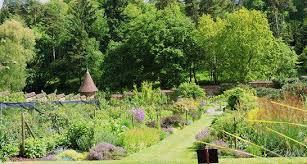 knightshayes court gardens near tiverton with restored kitchen
