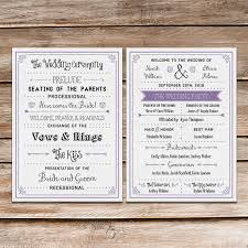 printable wedding programs a up of free wedding fan programs b lovely events