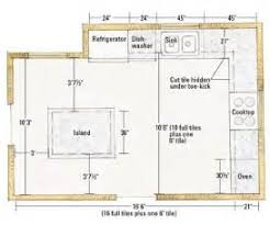 Floor Plans With Dimensions by Kitchen Floor Plans With Dimensions Kitchen