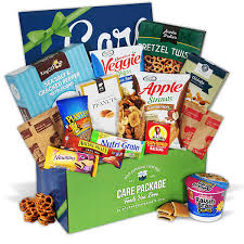 care package for healthy college students by gourmetgiftbaskets