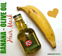 banana for hair banana olive hair mask for damaged hair bellatory