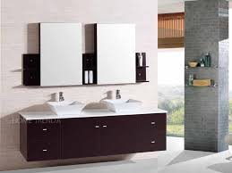 bathroom faucets beautiful wall mount floating inch double sink