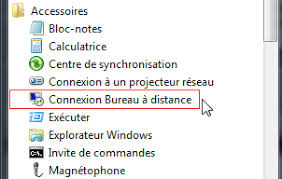 commande bureau a distance bureau à distance ou remote desktop contrôle à distance microsoft