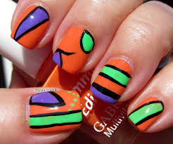 abstract nail art photo yexn
