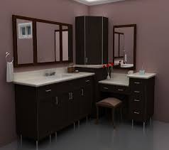 bathroom ikea bathroom cabinets in brown with purple paint wall