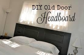 Headboard From Old Door by Old Door Headboard Simple Sojourns