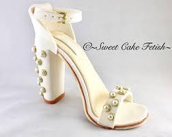 high heel cake topper gumpaste high heel shoe cake topper sugar high heel shoe fondant