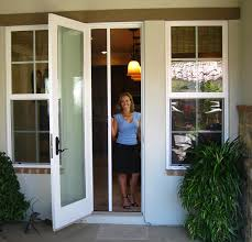 casper diy self install single retractable screen door casper