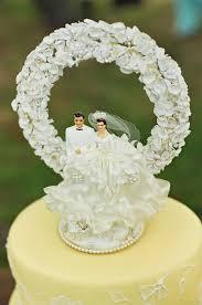 event design vintage wedding cake toppers evantine design