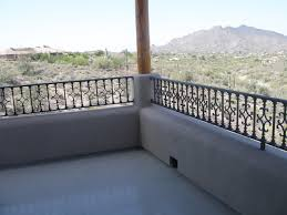 balcony railing traditional deck phoenix by grizzly iron inc