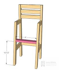 creative of wooden doll high chair plans and best 25 high chairs