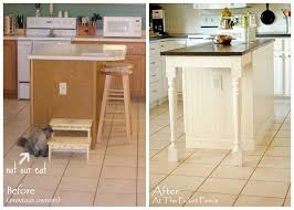 Kitchen Island Makeover Best 25 Diy Kitchen Island Ideas On Pinterest Build Kitchen