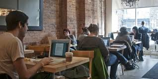 coffee shop design cost business is trending toward self employment and office less working